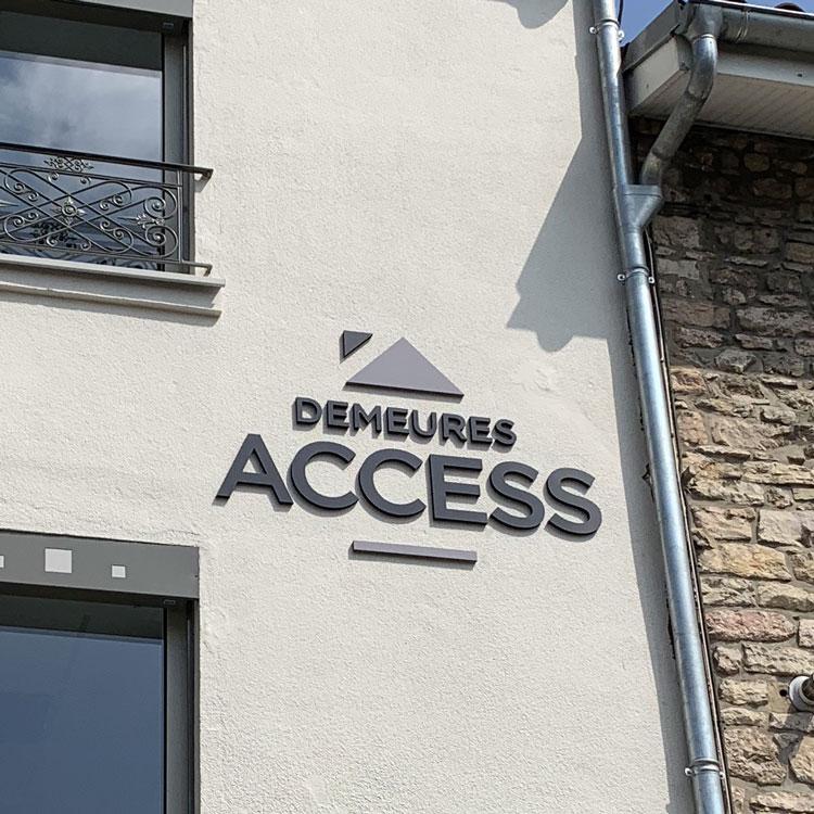 Façade Demeures Access