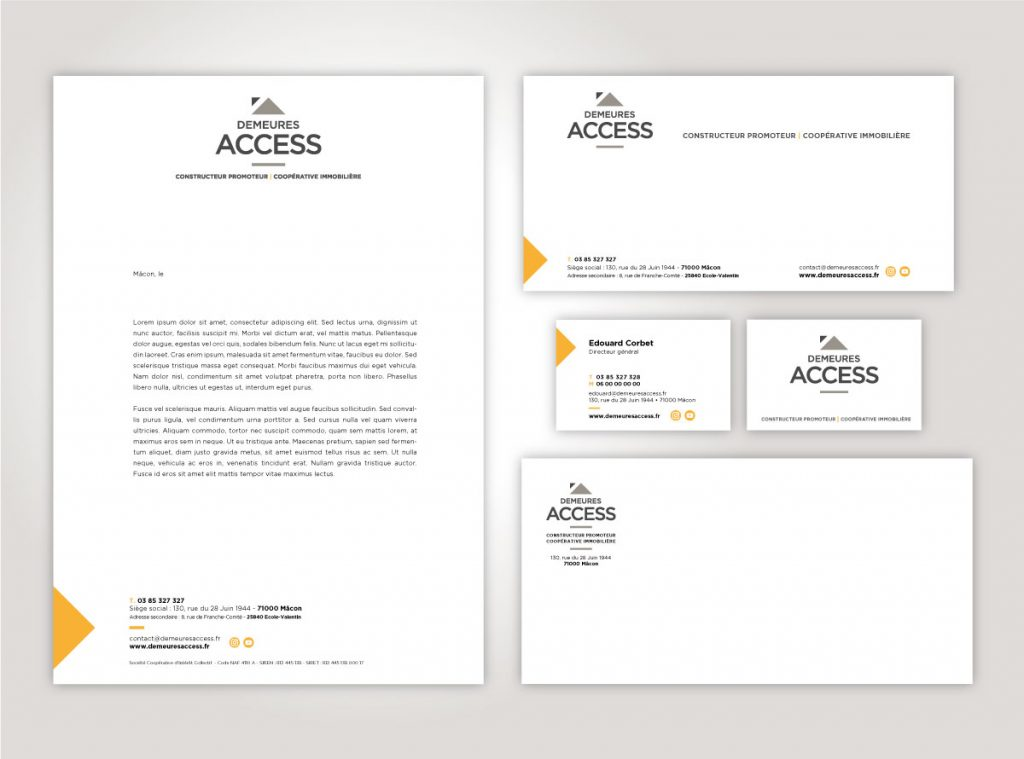 Papeterie Demeures Access