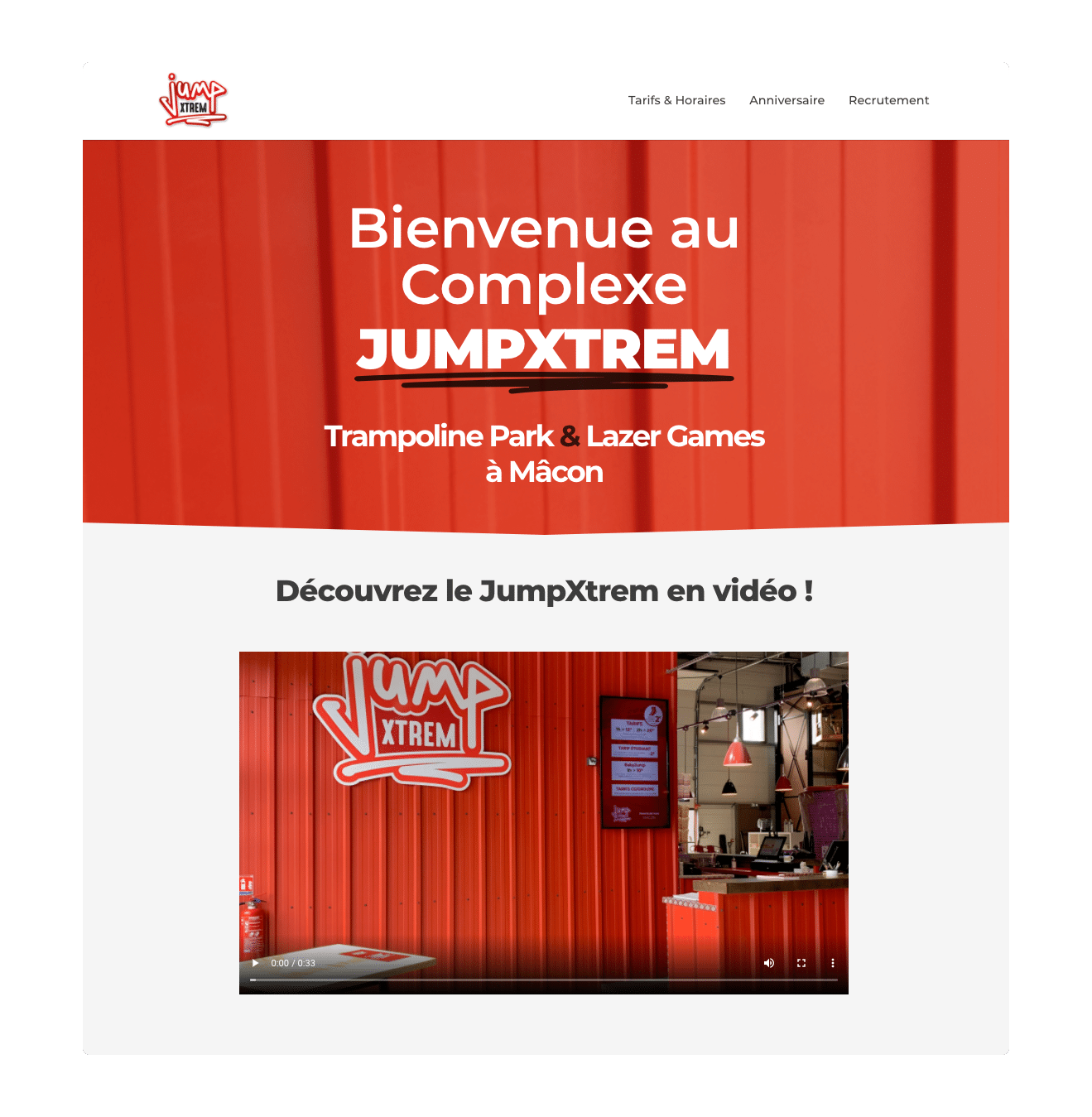 création site internet jumpxtremp macon